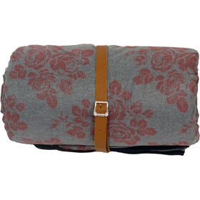 Grüezi-Bag WellhealthBlanket Wool Deluxe Slaapzak, grey melange/berry